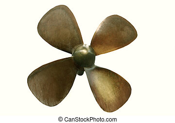 propeller on white background