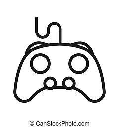 console gamepad vector illustration design