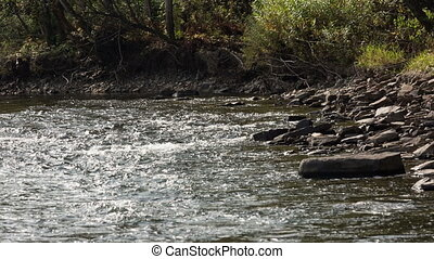 """mountain river - The mountain river of """"Verhnjaja Ters"""", the..."""