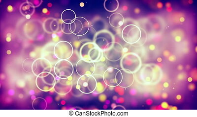 HD Loopable Background with nice abstract bubbles