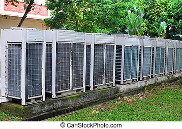 Air conditioner ventilators for power and energy, and other...