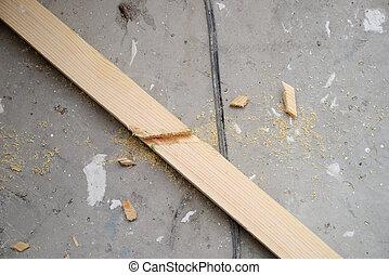 joists for floor - new wooden joists for floor repairs