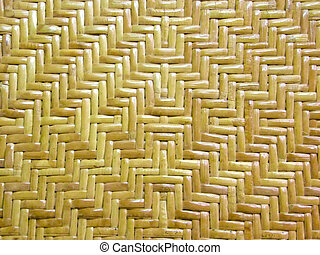Rattan Handicraft Texture - Yellow rattan handicraft texture