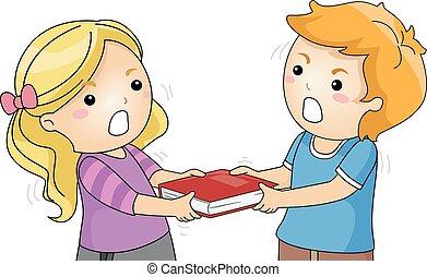 Kids Book Grab