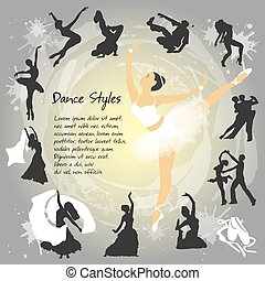 Set Dancing silhouettes