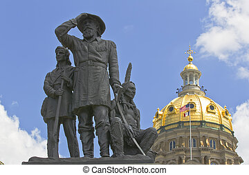 Iowa State Capitol - The Iowa State Capitol is the state...