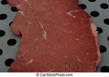 Piece of raw meat