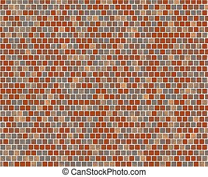 brick wall illustration background