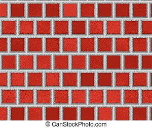 red ceramic tiles, abstract texture