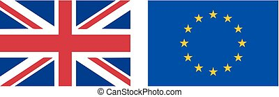 flag UK EU same size