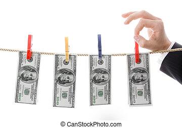Drying dollars
