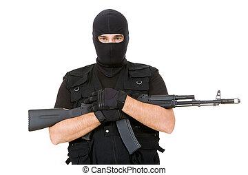 Armed criminal