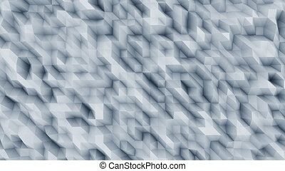 Blue abstract polygonal modern background for presentations...