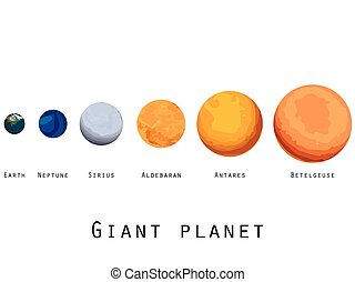 Giant planet. Planets and stars. - Giant planet. Planets and...