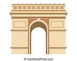 Triumphal Arch. Paris.
