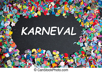 carnival - Karneval - the german word for carnival