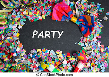 Party - colorful party decoration