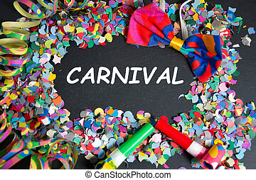 carnival - colorful carnival decoration