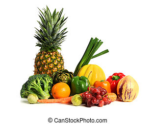 Fresh Fruits and Vegetables - Fresh fruits and vegetables...