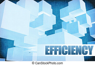 Efficiency on Futuristic Abstract