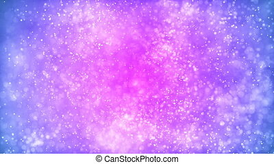 HD Loopable Background with nice pink particles