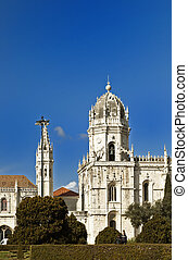 The Estrela Basilica in the Portugese Capital Lisbon