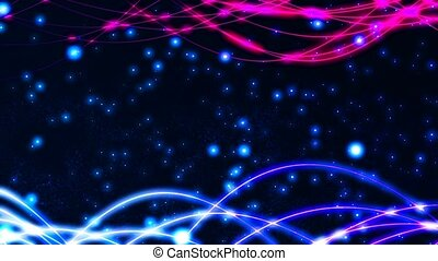 HD Loopable Background with nice abstract lines