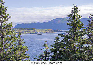 Harbour in Northwest Newfoundland - View of Rocky Harbour in...