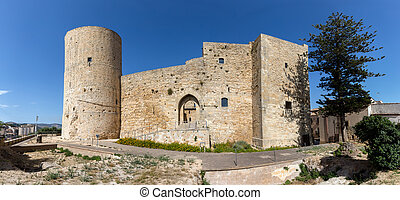 Norman castle of Salemi was built in 11th century by the...