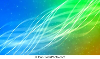 HD Loopable Background with nice abstract glowing lines