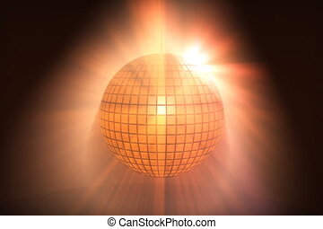 HD Loopable Background with nice sparkling disco ball