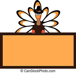 thanksgiving turkey - vector thanksgiving turkey