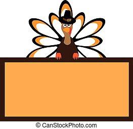 thanksgiving turkey - vector thanksgiving turkey