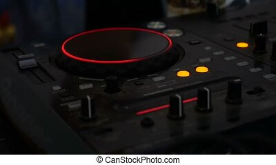 Remote mixer Audio DJ music glows in the dark video - Remote...
