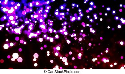 HD Loopable Background with nice purple glowing bokeh