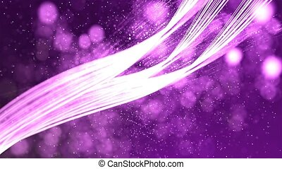 HD Loopable Background with nice abstract purple lines