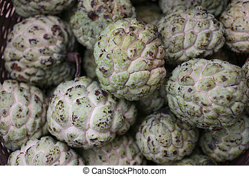 fresh custard apple or sugar apple - fresh custard apple or...