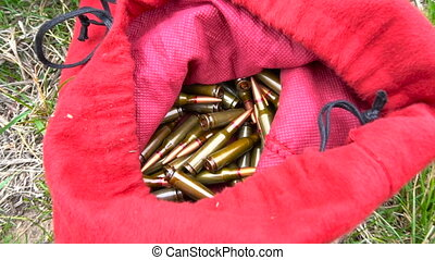 Ammunition cartridges for weapons - Full ammunition...