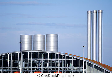 Non polluting facility which is producing gas based on...