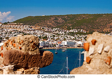 View Of Bodrum Through The Walls