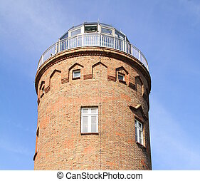 Lighthouse tower. Ruegen - Cape Arkona lighthouse toer on...