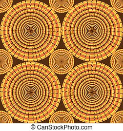 Seamples Vector Circle Pattern