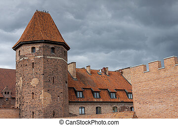 Teutonic Knights in Malbork castle. World Heritage List...