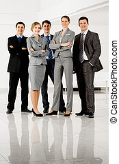 Business partners - Portrait of confident businesspeople in...