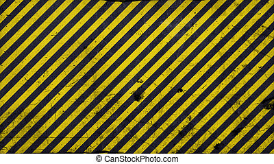 Black and yellow diagonal lines - warning lines - 16:9...