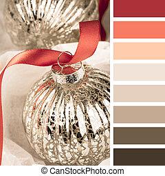 Glass bauble palette