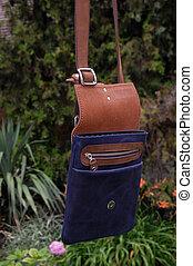 Leather bag, handbag