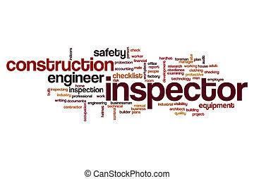 Inspector word cloud concept