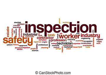Inspection word cloud