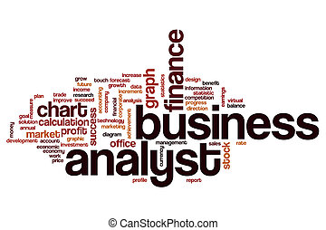 Business analyst word cloud